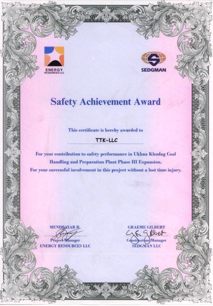 sedgman-er-safety-certificat